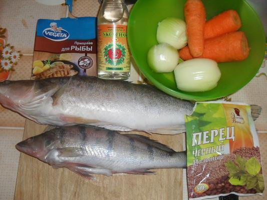 Рыба хе из судака рецепт с фото