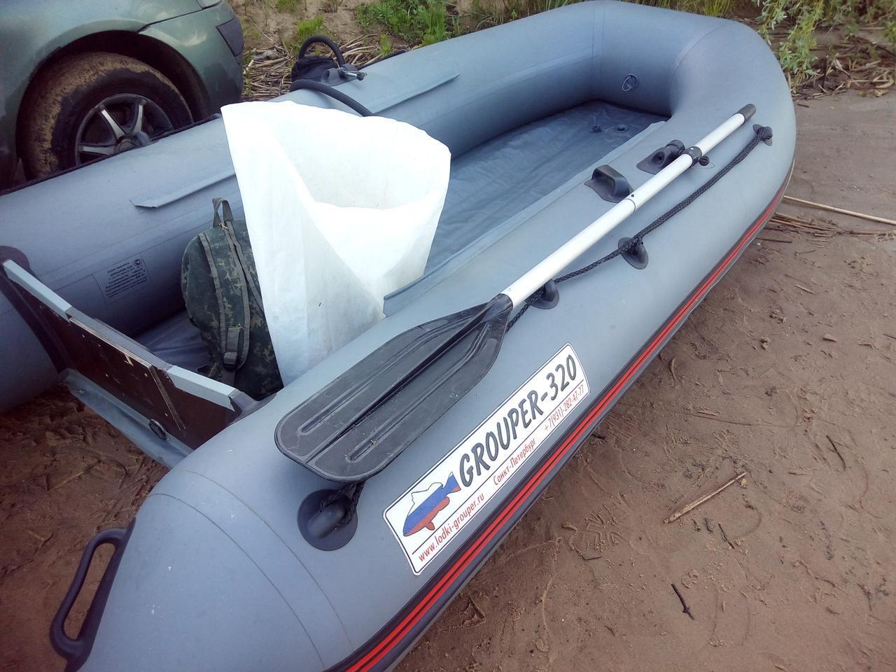 Лодка пвх групер 400
